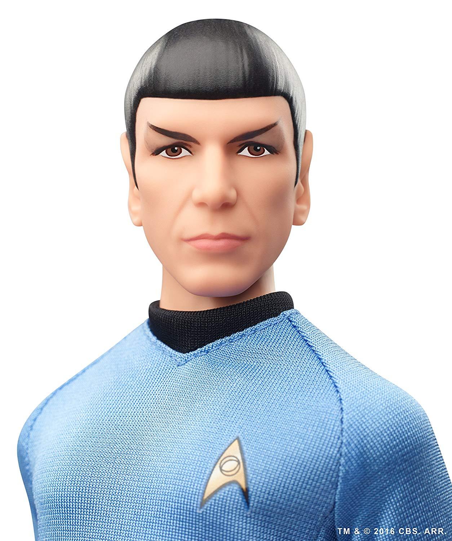 Star Trek Barbie Kirk Spock et Uhura Bundle de tous les trois Noir Label figures