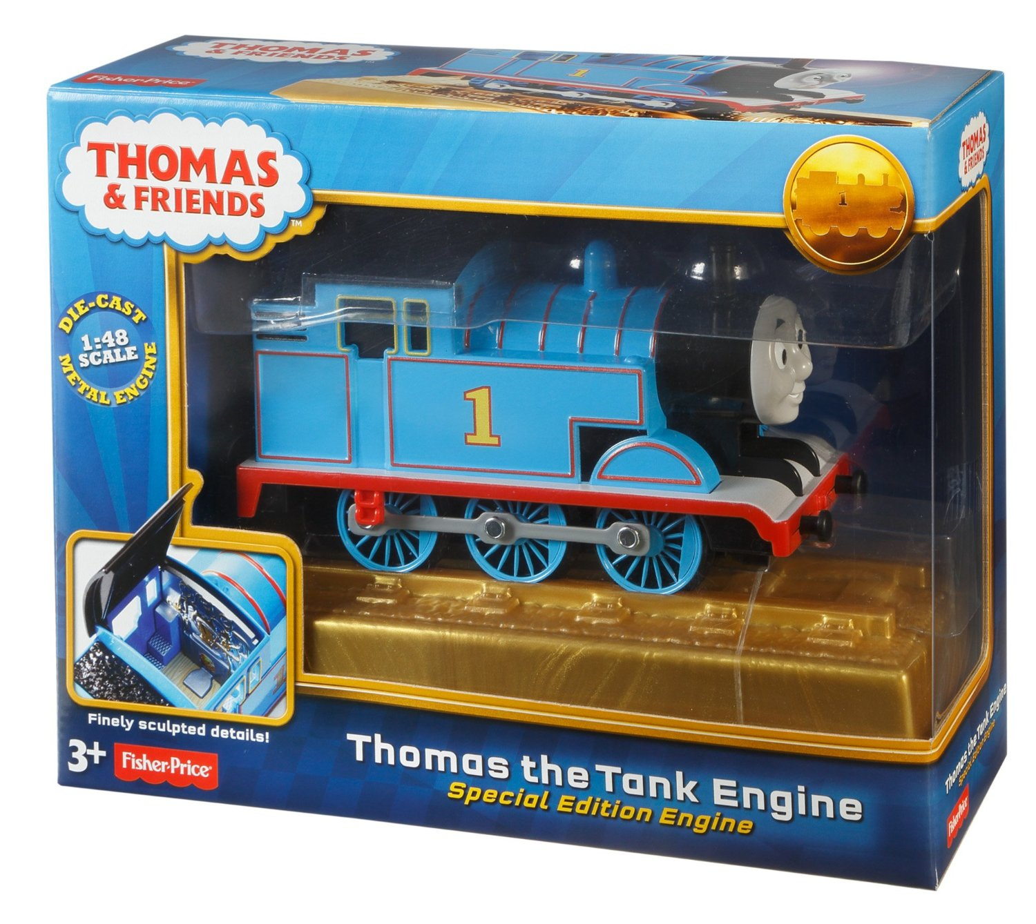 7490c0f6814c6c New 70th Anniversary Thomas the Tank Engine Special Edition Die Cast Train