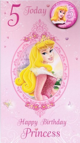 Disney Princess Birthday Cards Your choice of 8 different