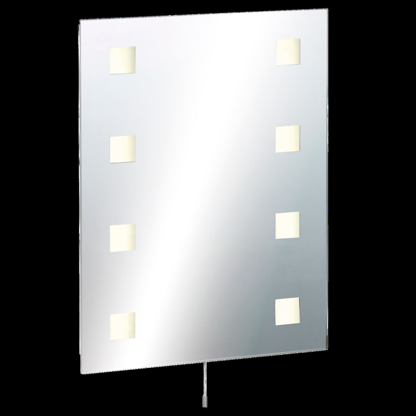 RCT6045SD - Illuminated Bathroom Mirror c/w Shaver Socket, Demister ...