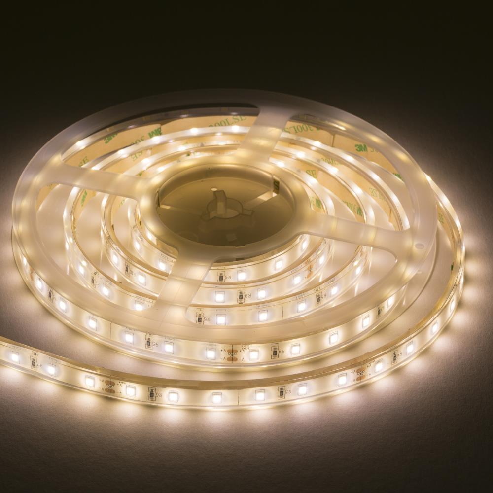 Details About 12v Ip67 Led Flex Tape Strip Light Warm White 3000k 5 Metres Length