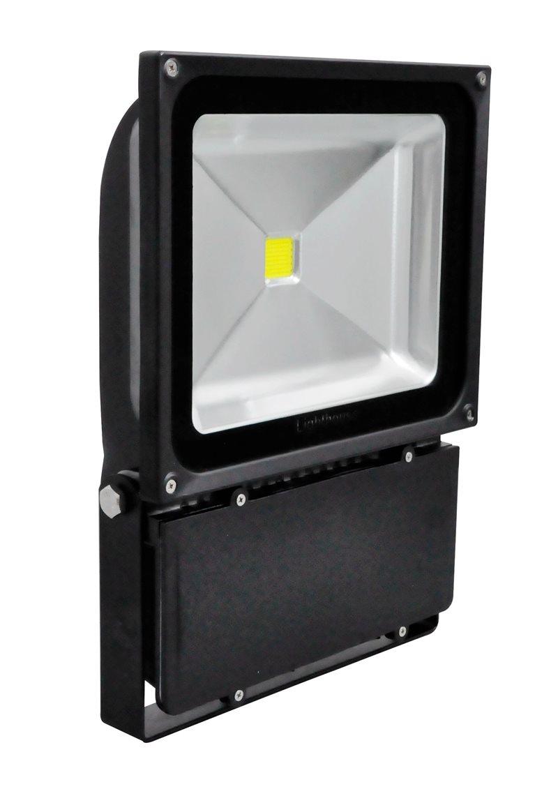 80W Hochwertige LED Sicherheit Flut Licht IP65 Im Freien Schwarzen  Aluminium PXPR80WSB