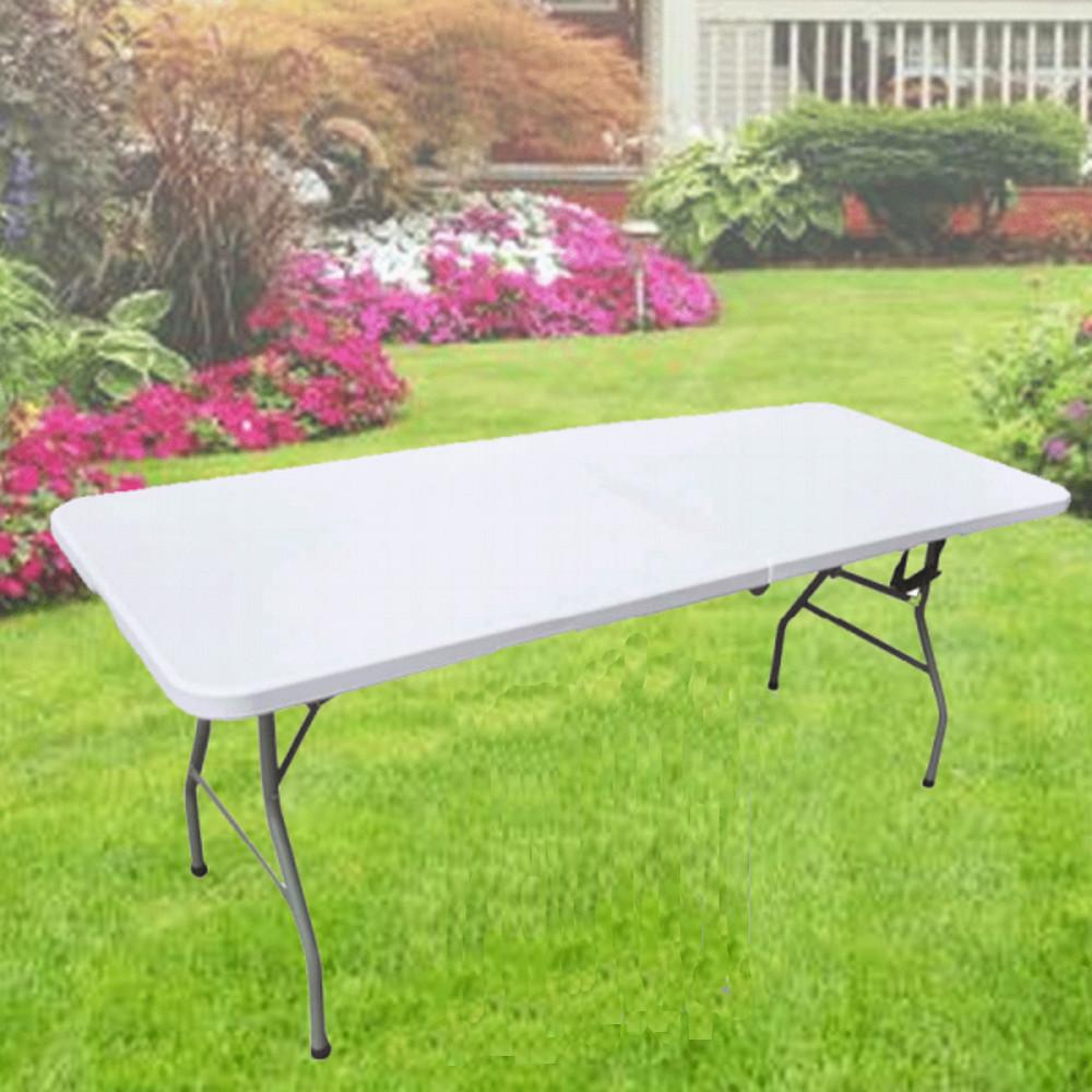 Redwood leisure resistente mesa plegable jard n for Ocio y jardin