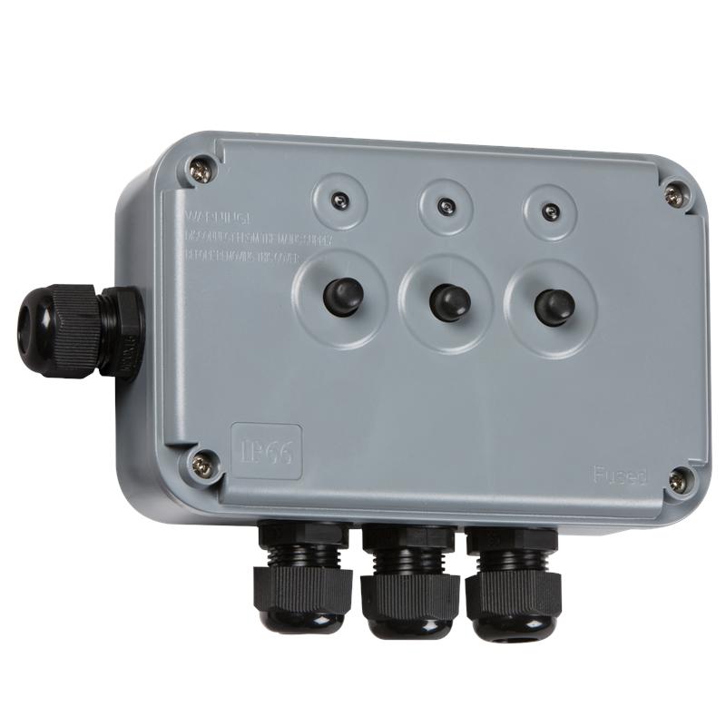 Weatherproof Ip66 Outdoor Lights  Pumps  Control Push