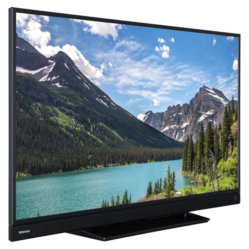 toshiba 55 pouces led smart tv 4k ultra hd cran a wi fi. Black Bedroom Furniture Sets. Home Design Ideas