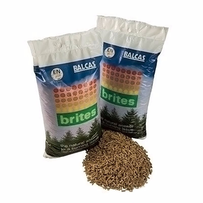 Brites eco friendly wood pellet boiler fuel bag clean for Why is wood sustainable