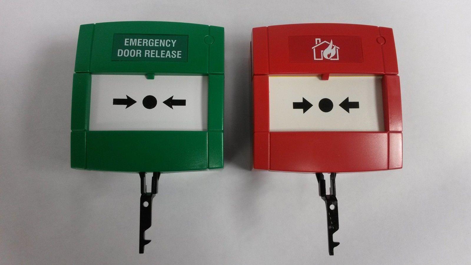 Free P/&P 1x KAC Emergency Call Point Break Glass Fire Alarm Test Key SC070