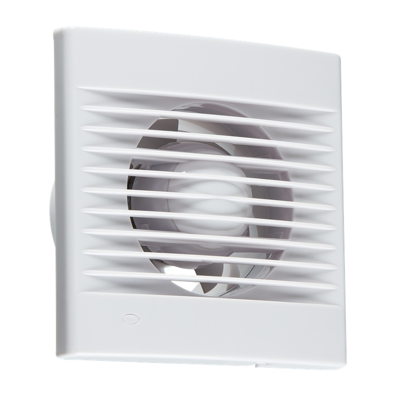 "4"" Axial Wall & Ceiling Extractor Fan With Overrrun Timer ..."