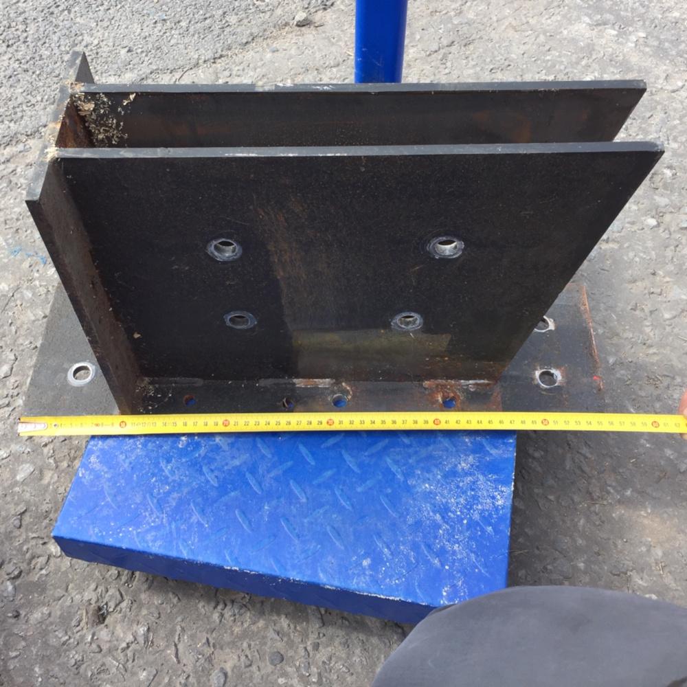 Rafter Beam Brackets 10mm Plate Steel For Timber Joist