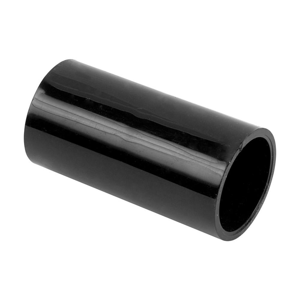 20mm Black Pvc Straight Coupler Junction Pc20b Electric Trunking Of Conduits Pipes Electrical Trunkings Plumbing Wire Cable