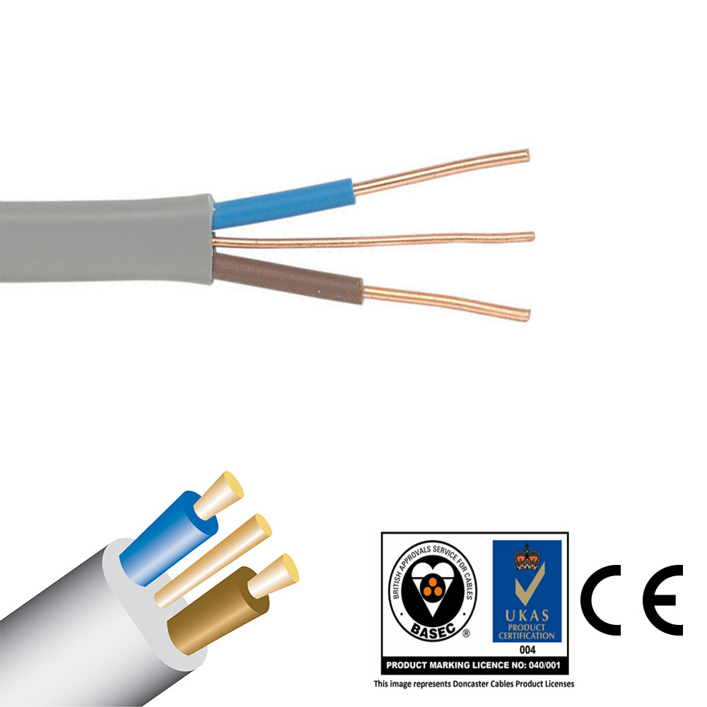 Twin And Earth Te Electric Cable Wire Lights Electrical Socket Receptacle Wiring Large Image