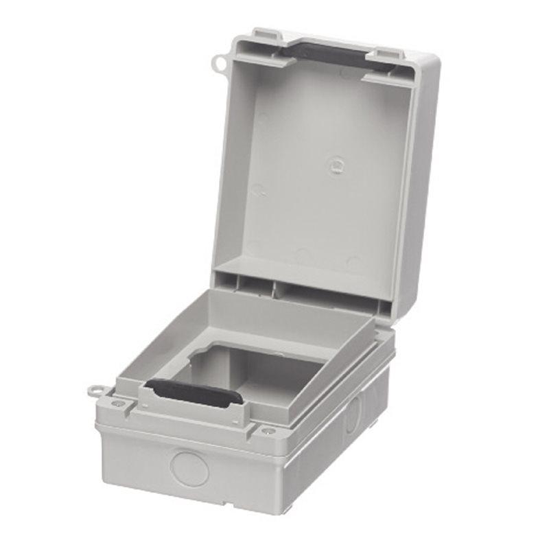 Europa Ip65 1 Gang Weatherproof Outdoor Socket  U0026 Switch