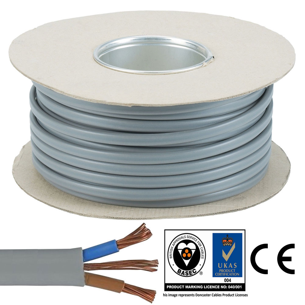 6 mm Twin and Earth T&E Electric Cable Wire | Domestic High Power ...