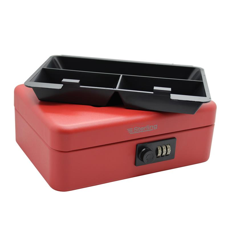 New 3 DIGIT STEEL COMBINATION CAR SECURITY SAFE BOX Portable Keyless Valuables