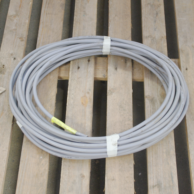 3 Core 4mm Grey Black, Yellow/Green XBK Flex Grey Cable - 20 Metres ...