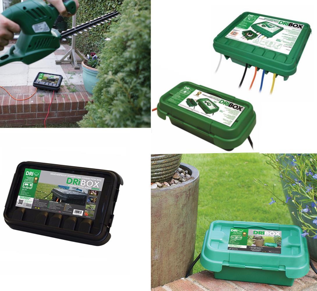Dribox Weatherproof Electrical Connection Box Outdoor IP55 Garden ...