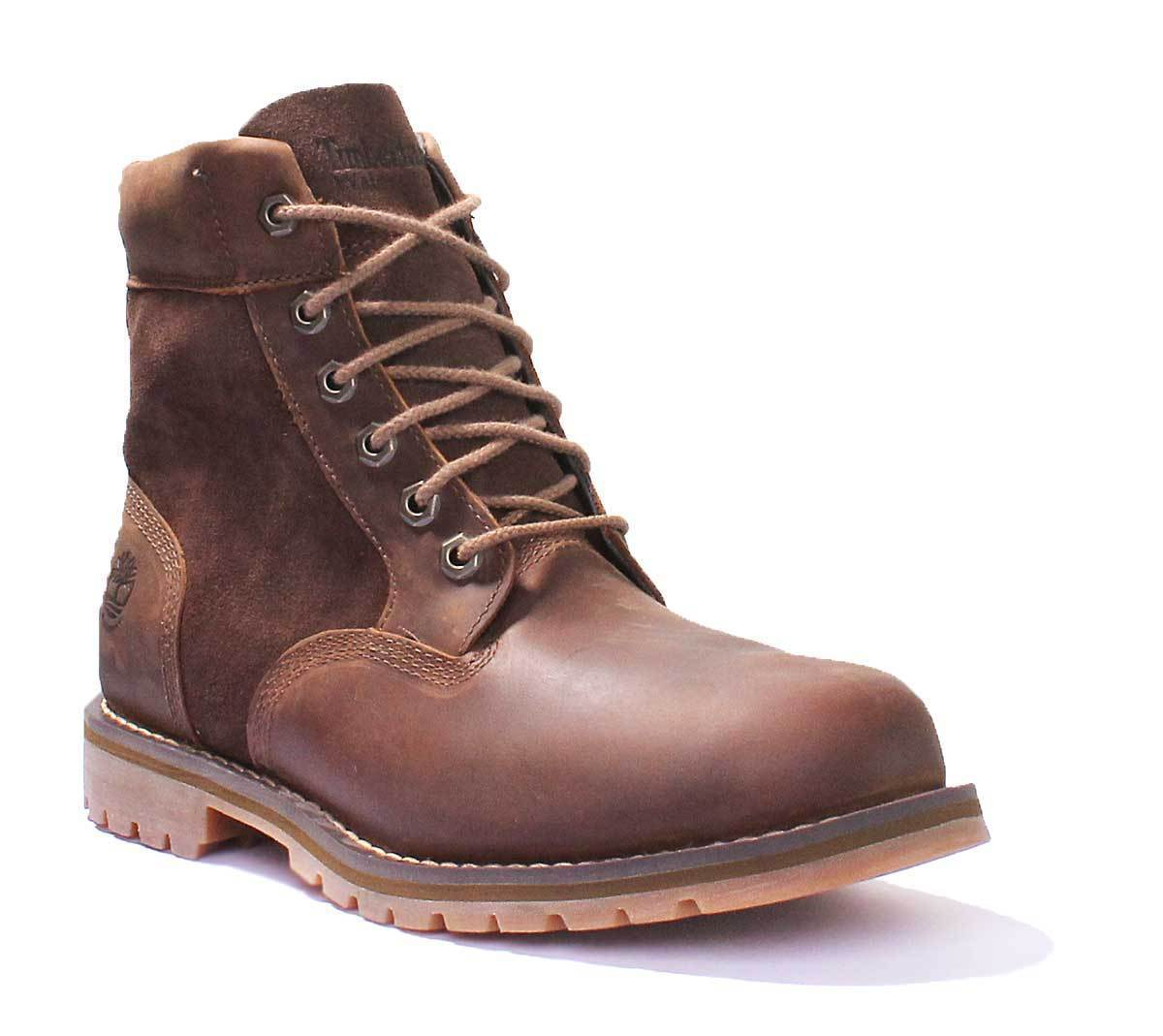 Timberland Uomo Pelle Stivali Chukka Larchmont Coi Lacci Ebay In SrTwS6nq