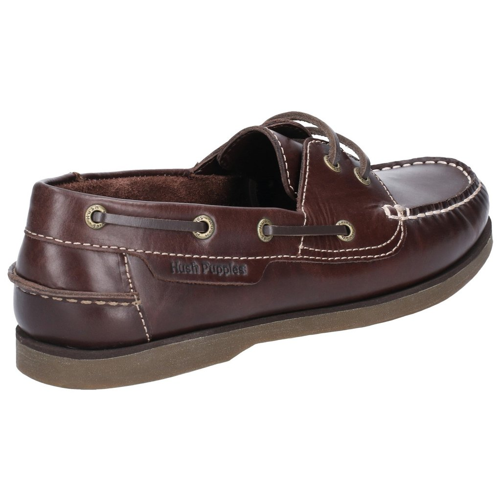 Hush Puppies Henry Mens Brown Classic