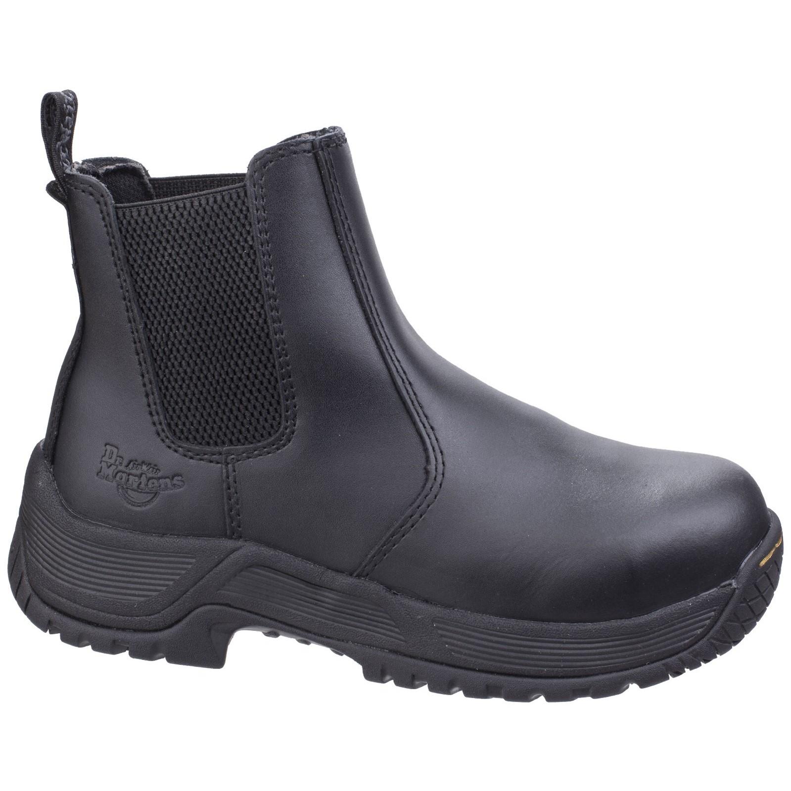 Dr Martens DM Docs Gunaldo ST Lightweight Steel Toe Cap Leather Safety Shoes PPE