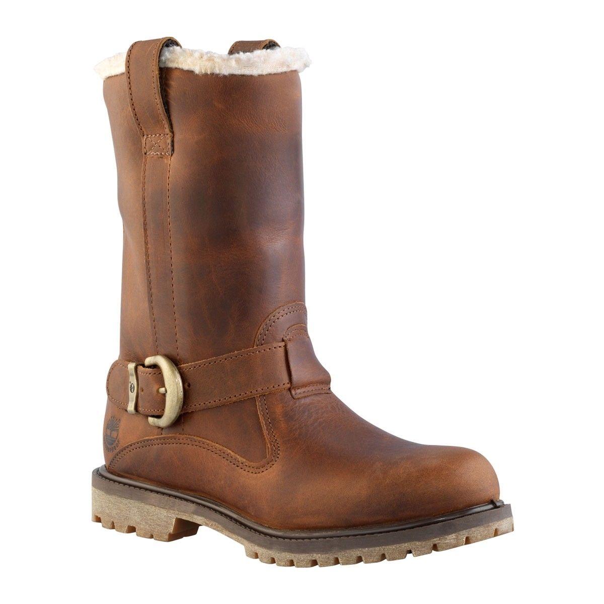 SCARPE TIMBERLAND N.39,5 UK6 Stivali Boots Leather EUR 25
