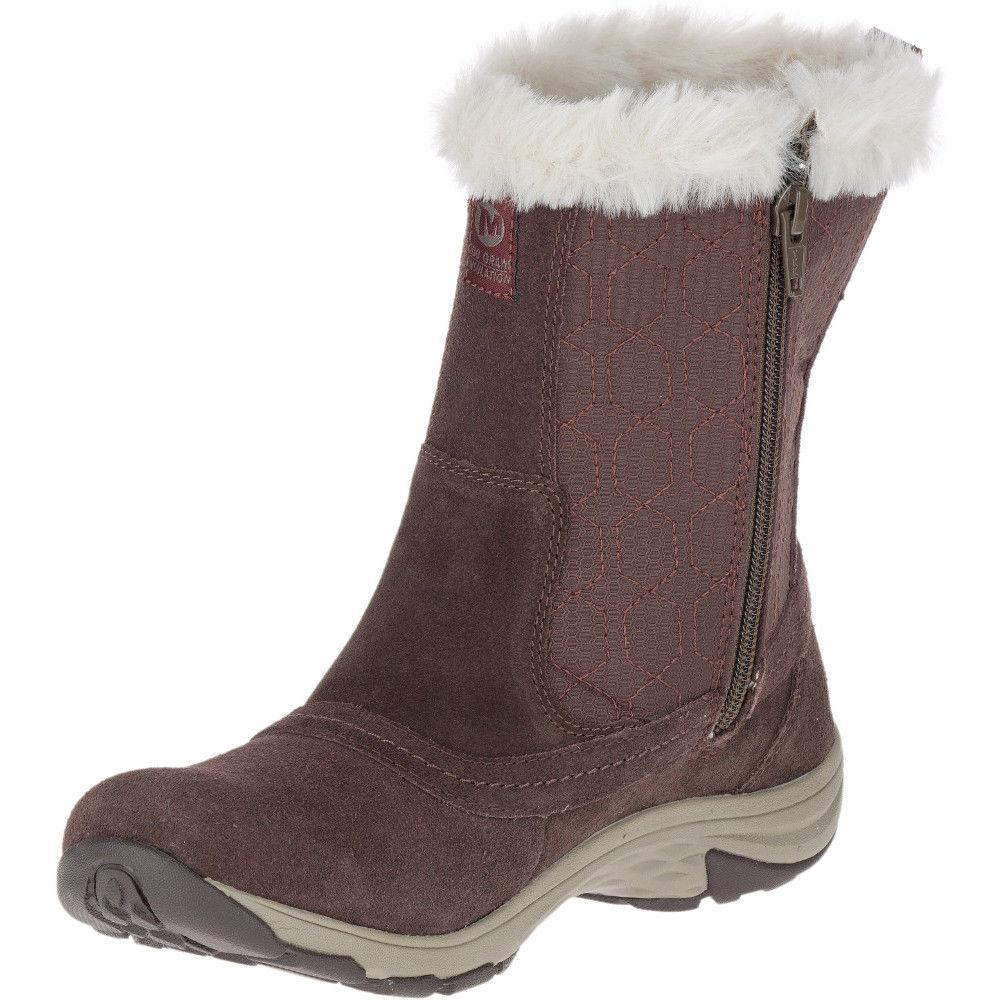 Womens Merrell Ryeland Tall Polar Waterproof Snow Boots