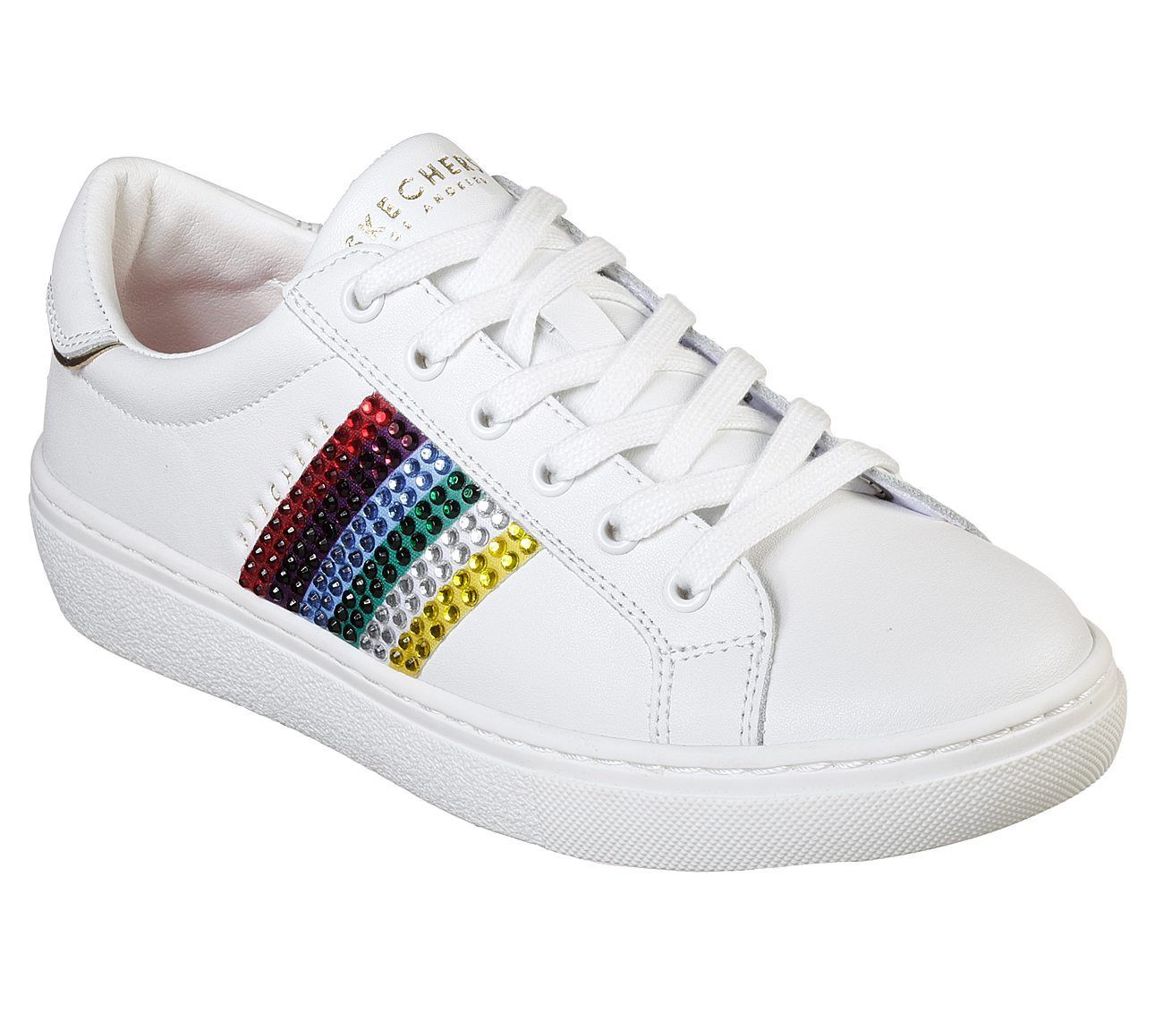 Womens Skechers Goldie Rainbow Rockers Classic Trainers