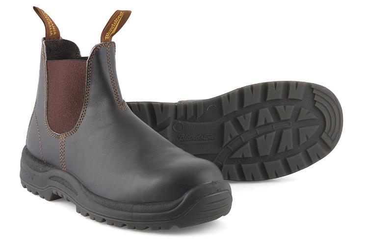 extremadamente único zapatos de temperamento reputación confiable Detalles de Blundstone 192 Clásico Hombre Botines sin Cordones Trabajo  Botas Punta Acero