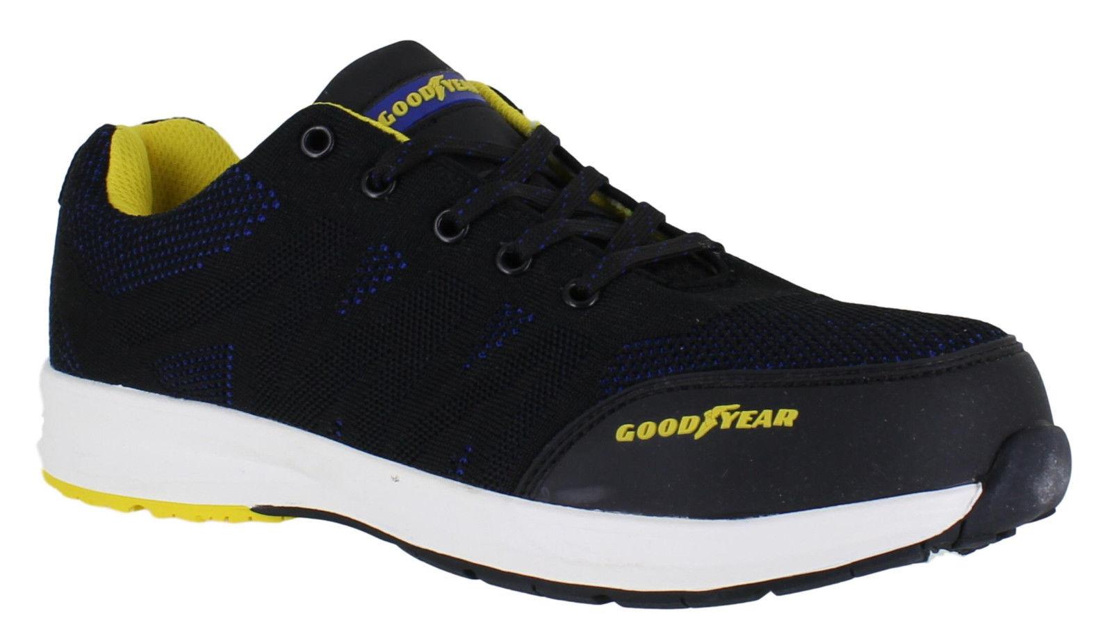 Mens WILDCAT S1P Lightweight Safety Composite Toe Cap Midsole Trainer Boots Size