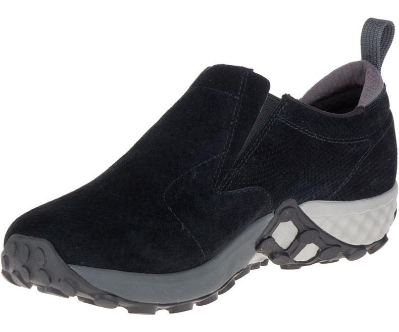 Merrell Jungle Moc AC+, Zapatillas Sin Cordones para Hombre, Negro (Black), 49 EU