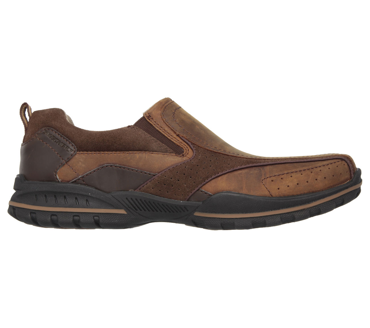 Skechers Men S Memory Foam Slip On Shoes