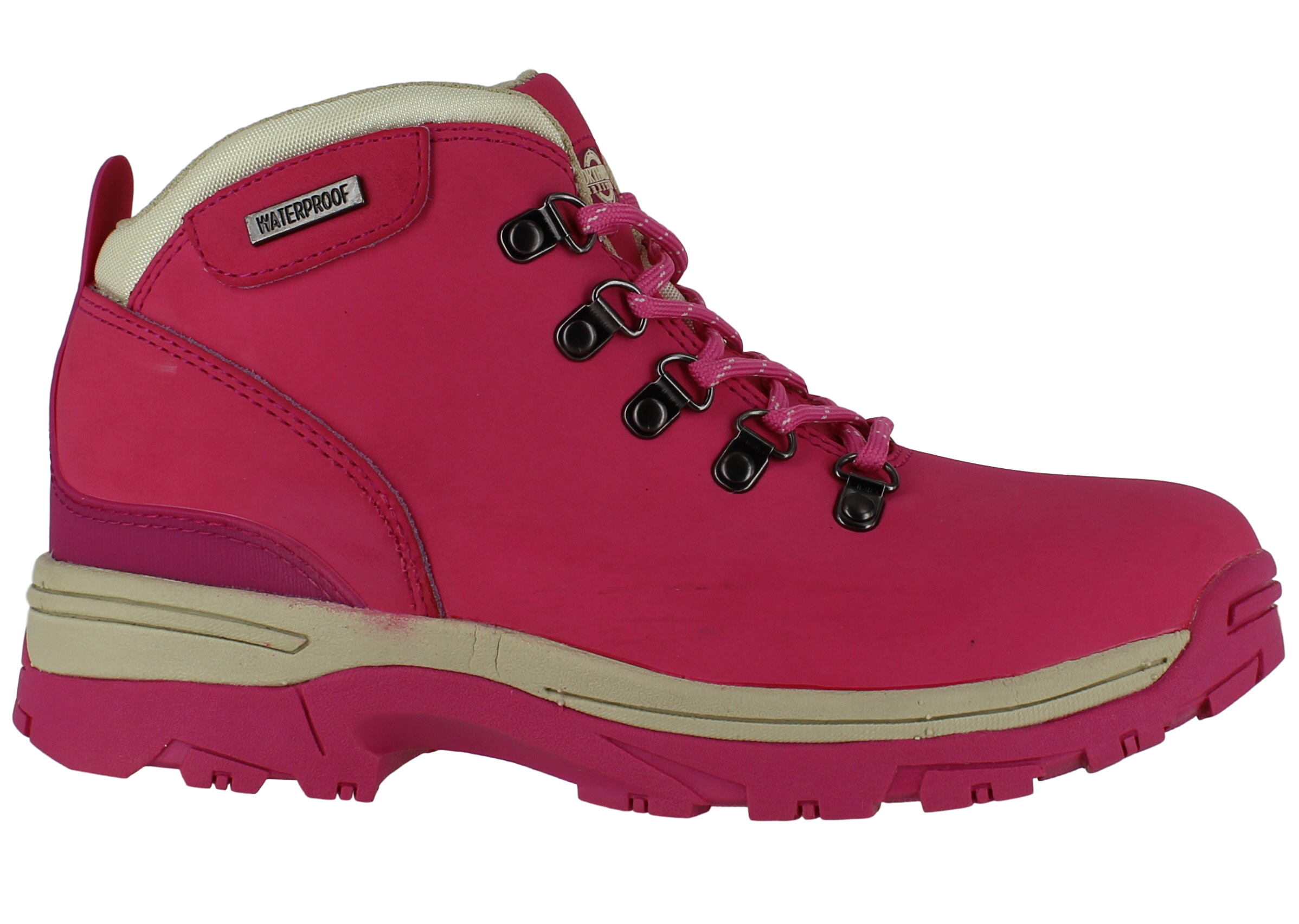 Womens NorthWest WaterProof Leather Lace Up Walking Hiking Boots UK Sizes 3 to 8