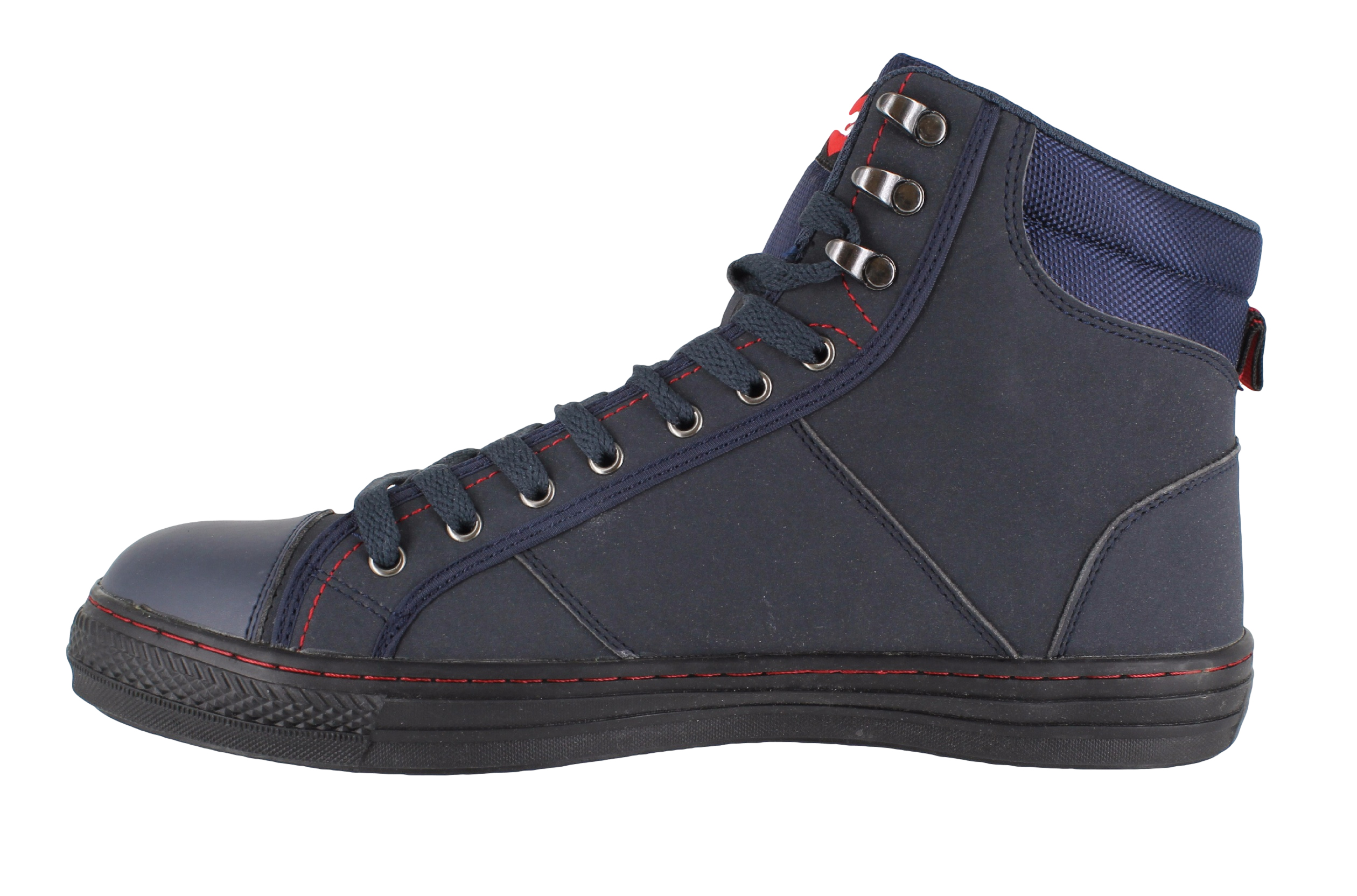 Mens Womens Lee Cooper Steel Toe SB Safety Baseball Boots High Top Sizes 3  to 12 cf8c979494