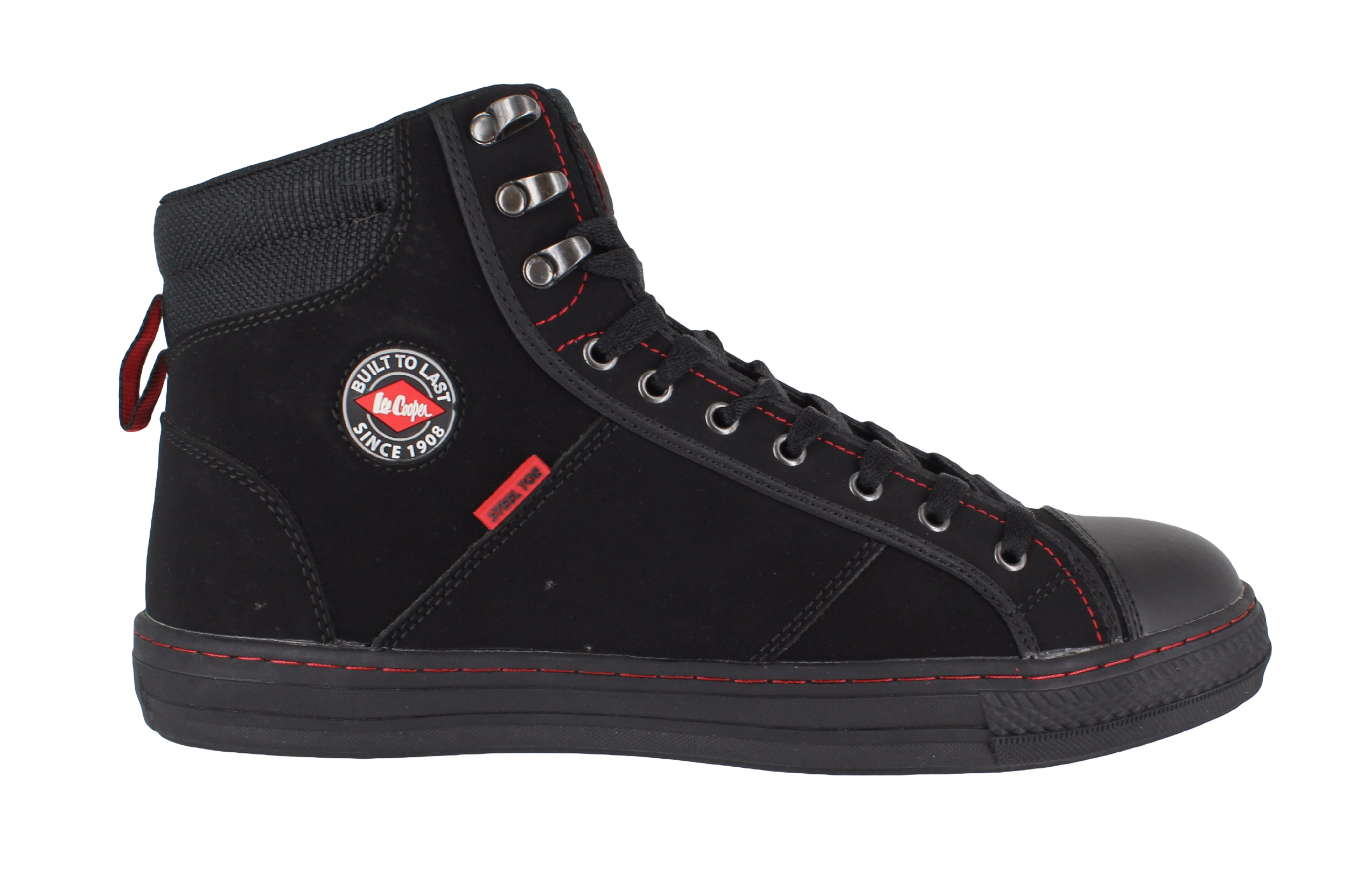 Lee Cooper 022 - Unisex Hi Top Style Safety Boots - Steel Toe Cap  52393a9ed