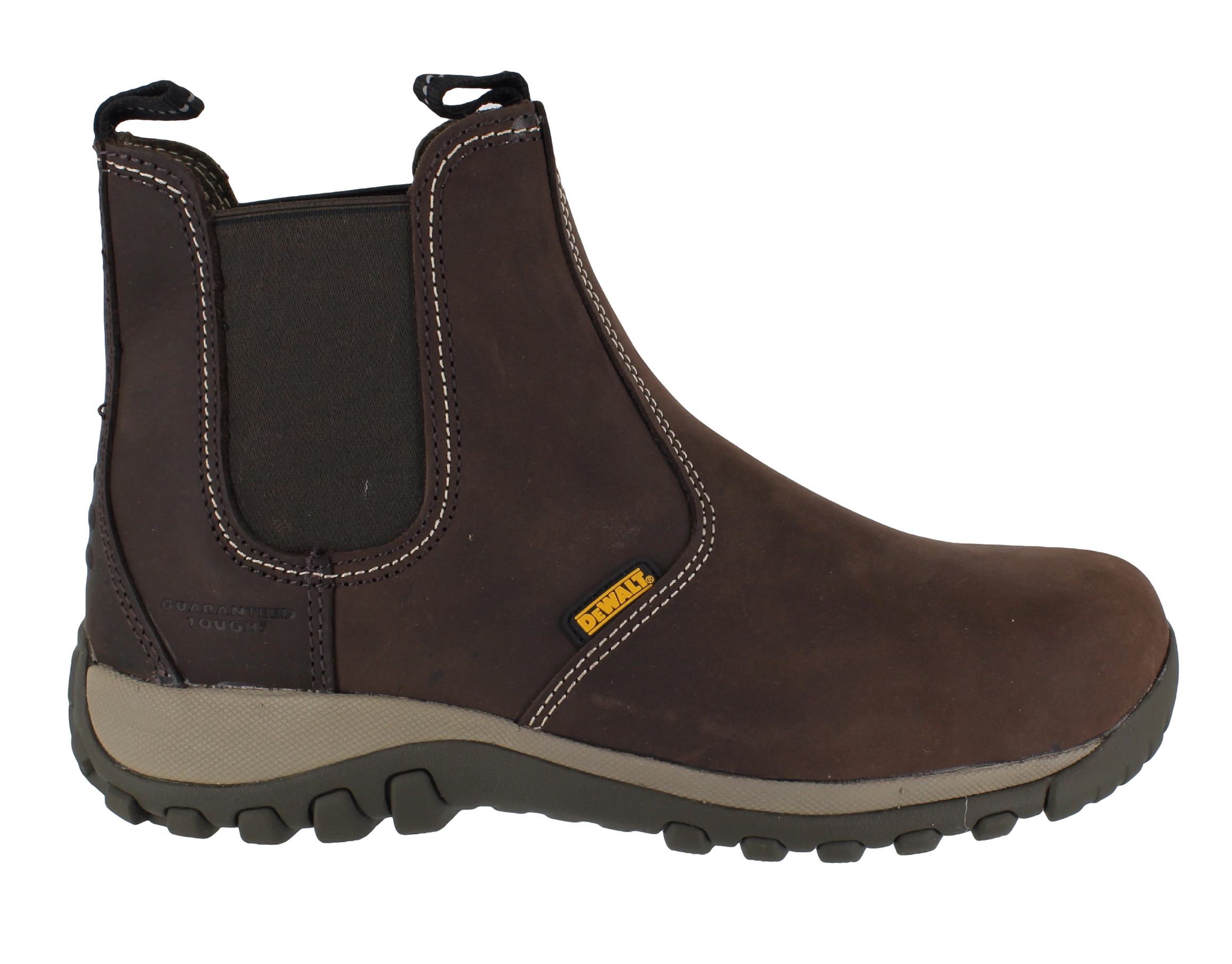 454440574b6 Mens DeWalt Radial Steel Toe SBP Safety Dealer Slip On Work Boots Sizes 6  to 12