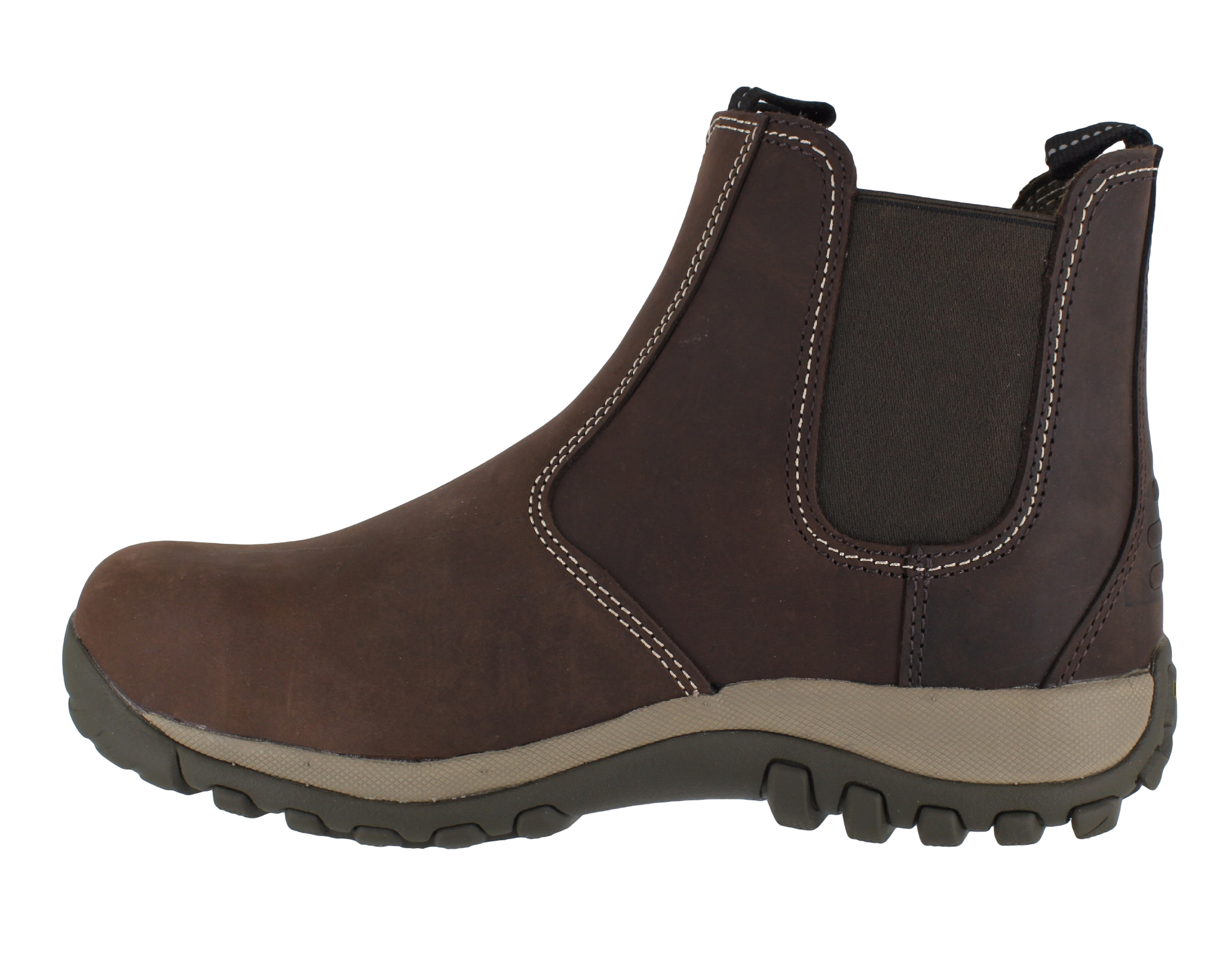 DeWalt Radial Waxy Brown Leather Steel Toe Cap Safety Work Dealer Chelsea Boots