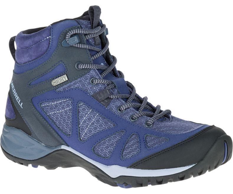 Womens Merrell Siren Sport Q2 Mid Waterproof Hiking Boots