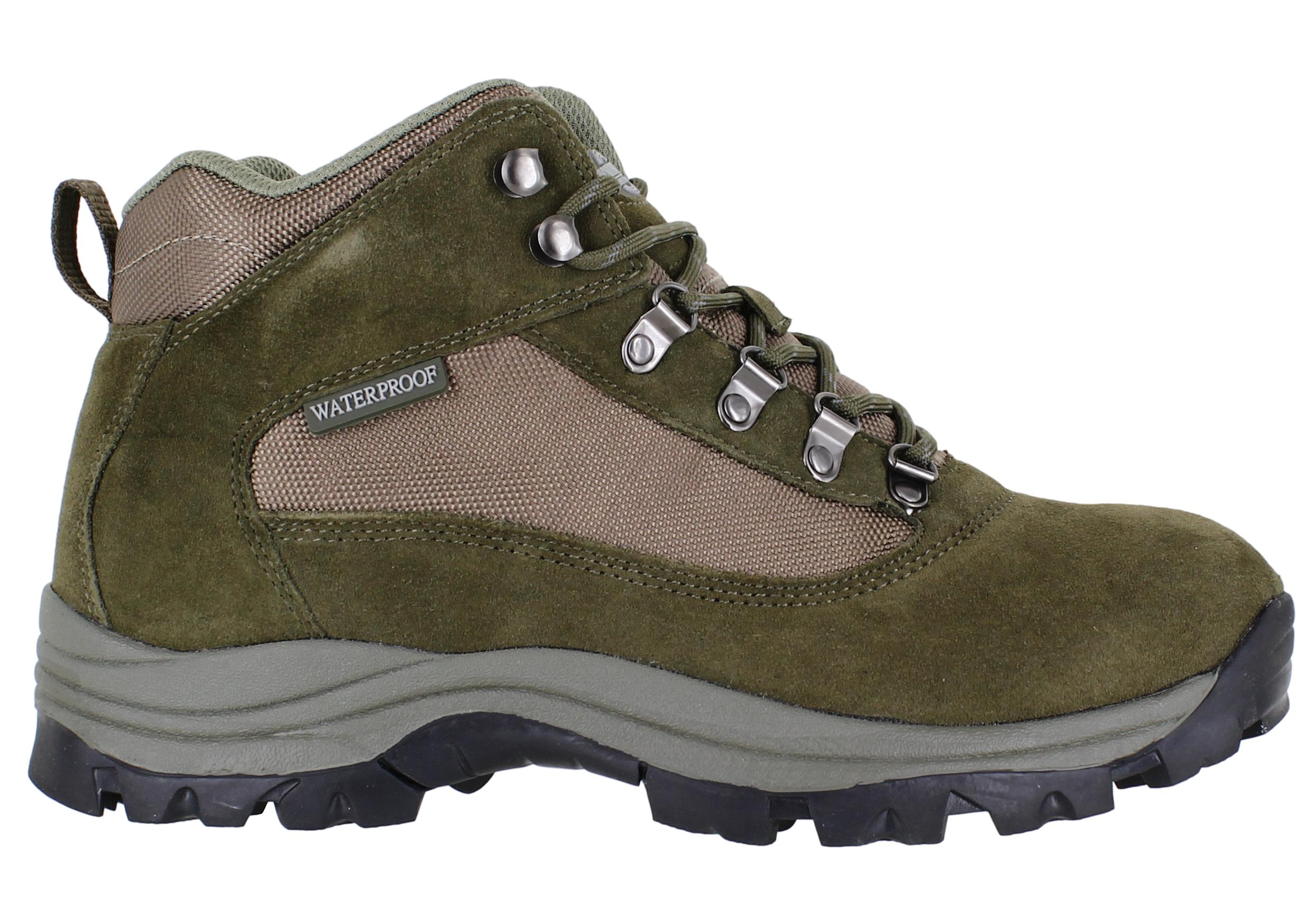 24146f89abf Details about Mens Northwest Terrain 2 Waterproof Lace Up Walking Hiking  Boots Sizes 7 to 12