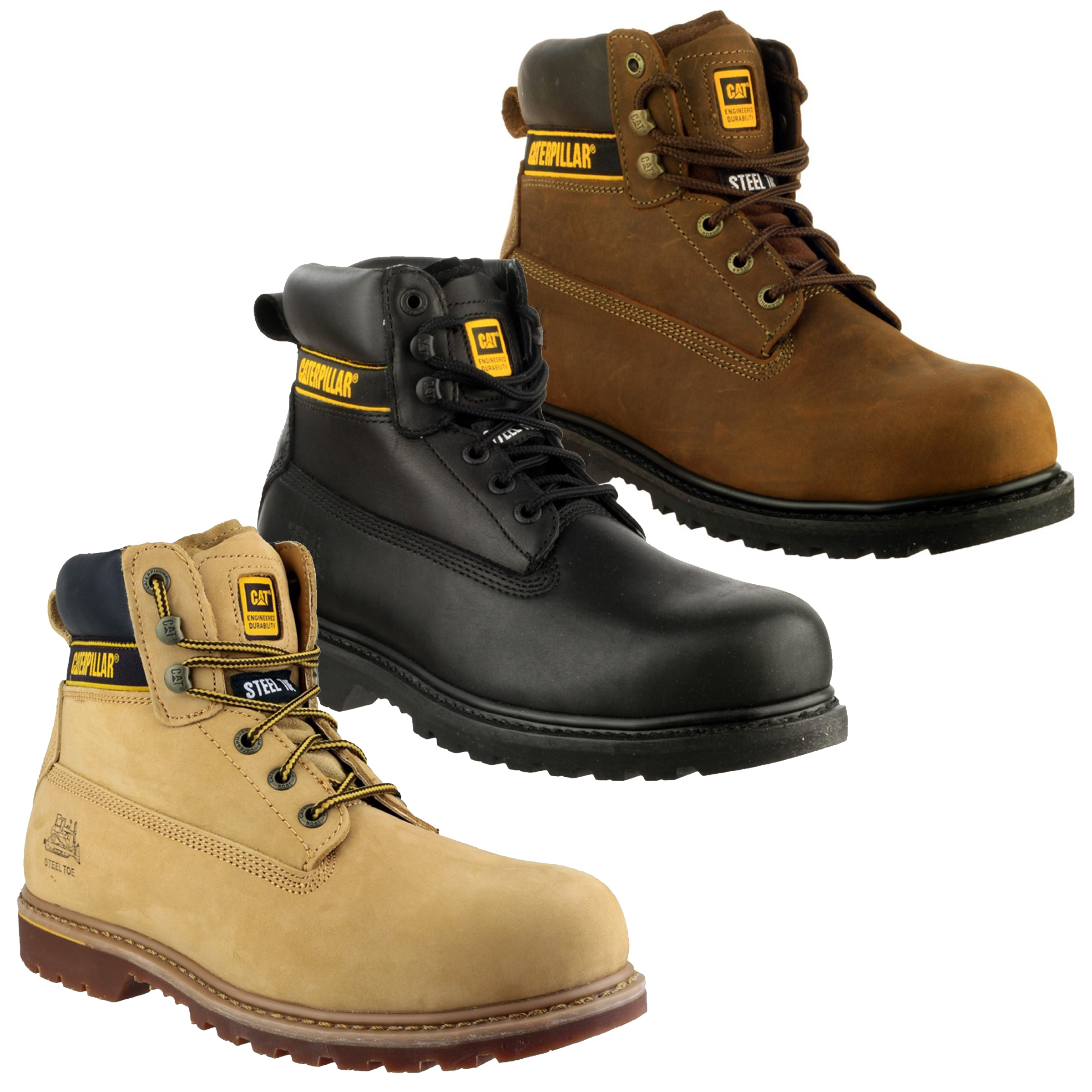 Caterpillar Holton - Mens Safety Boots