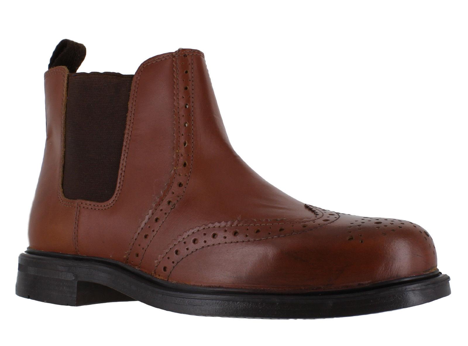 Oaktrak Castaña APPLEBY Hombre Castaña Oaktrak Zapatos Oxford de piel SIN  CIERRES 7af137 4397e6fe2b57