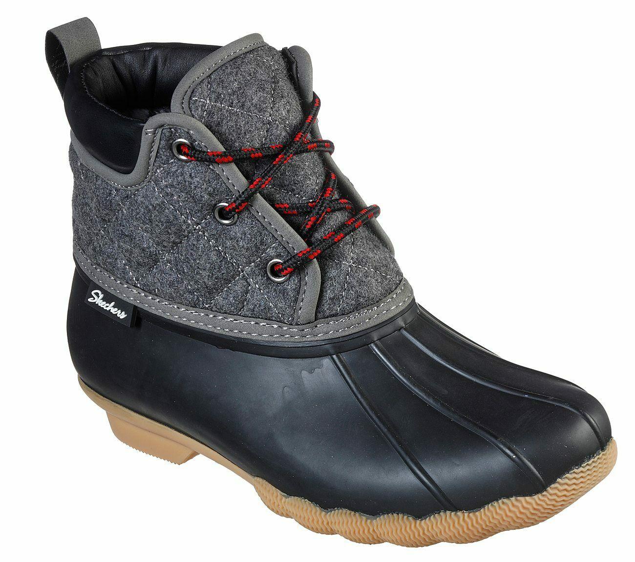 En el piso explosión Cambio  Skechers Pond-Lil Charcos Impermeables para Mujer Tobillo Botas de Lluvia |  eBay