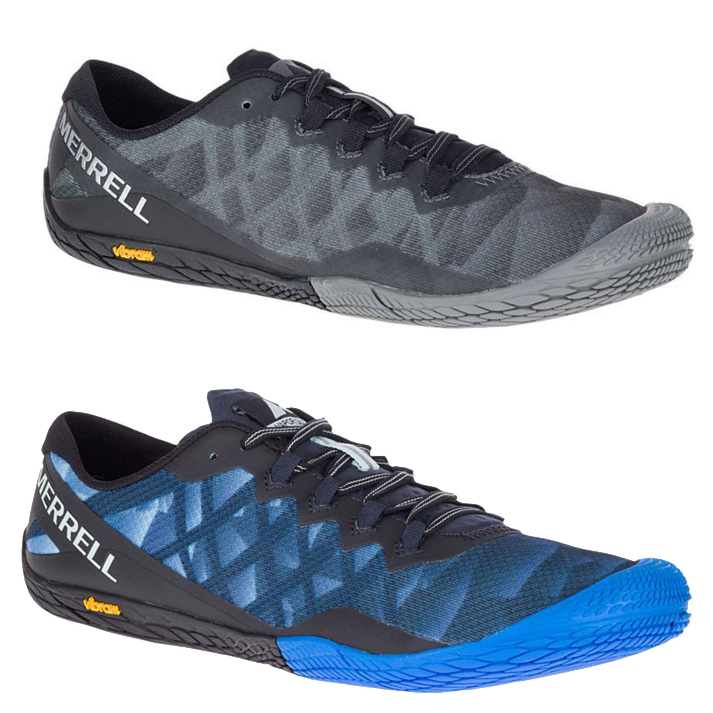 09769947dbb Mens Merrell Vapor Glove 3 Running Barefoot Vibram Trainers Sizes 7 to 12.5