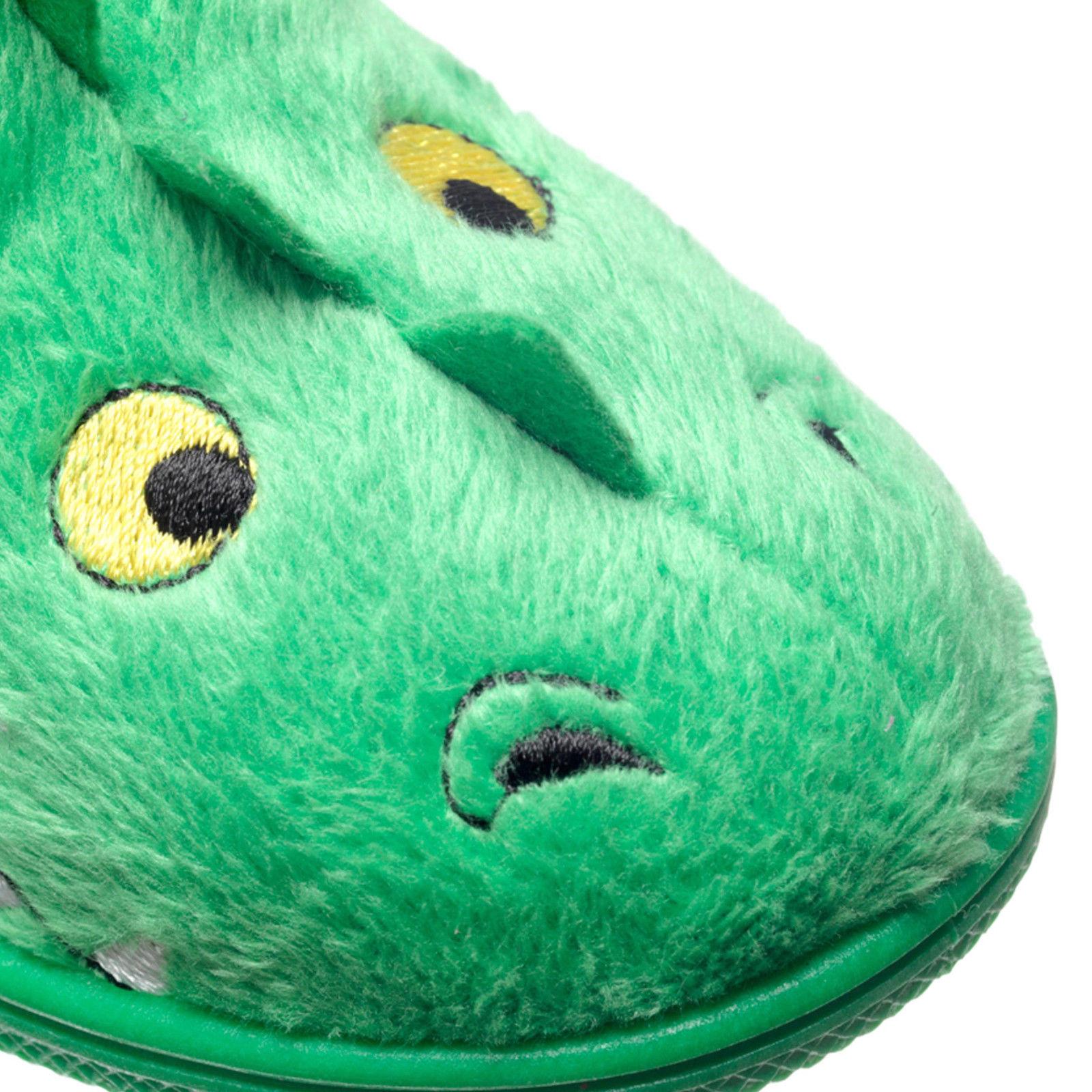 Scorch Chipmunks Boys Kids Infants Animal 3D Bootee Soft Plush Slippers