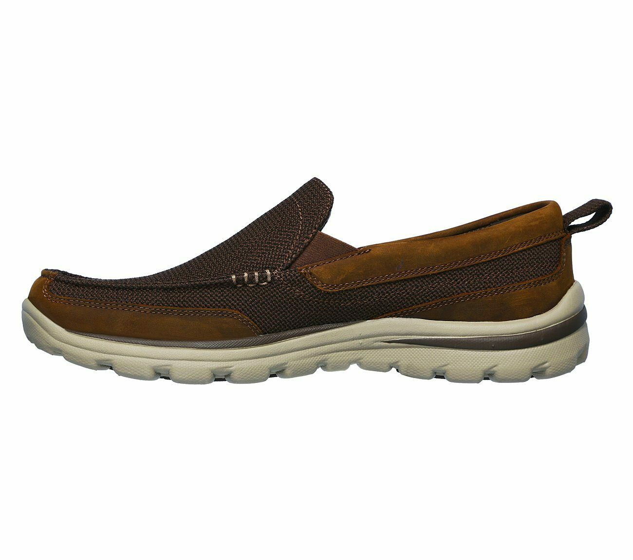 Maquinilla de afeitar Inquieto como eso  Skechers 2016 Mens Relaxed Fit Superior Misko Shoes 64590 Slip on Casual  Loafers UK 8.5 for sale | eBay