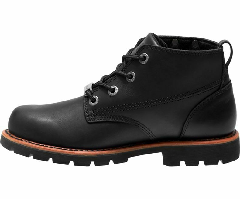 Mens Harley Davidson Broxton Leather Biker Chukka Ankle Boots Sizes 6 to 12