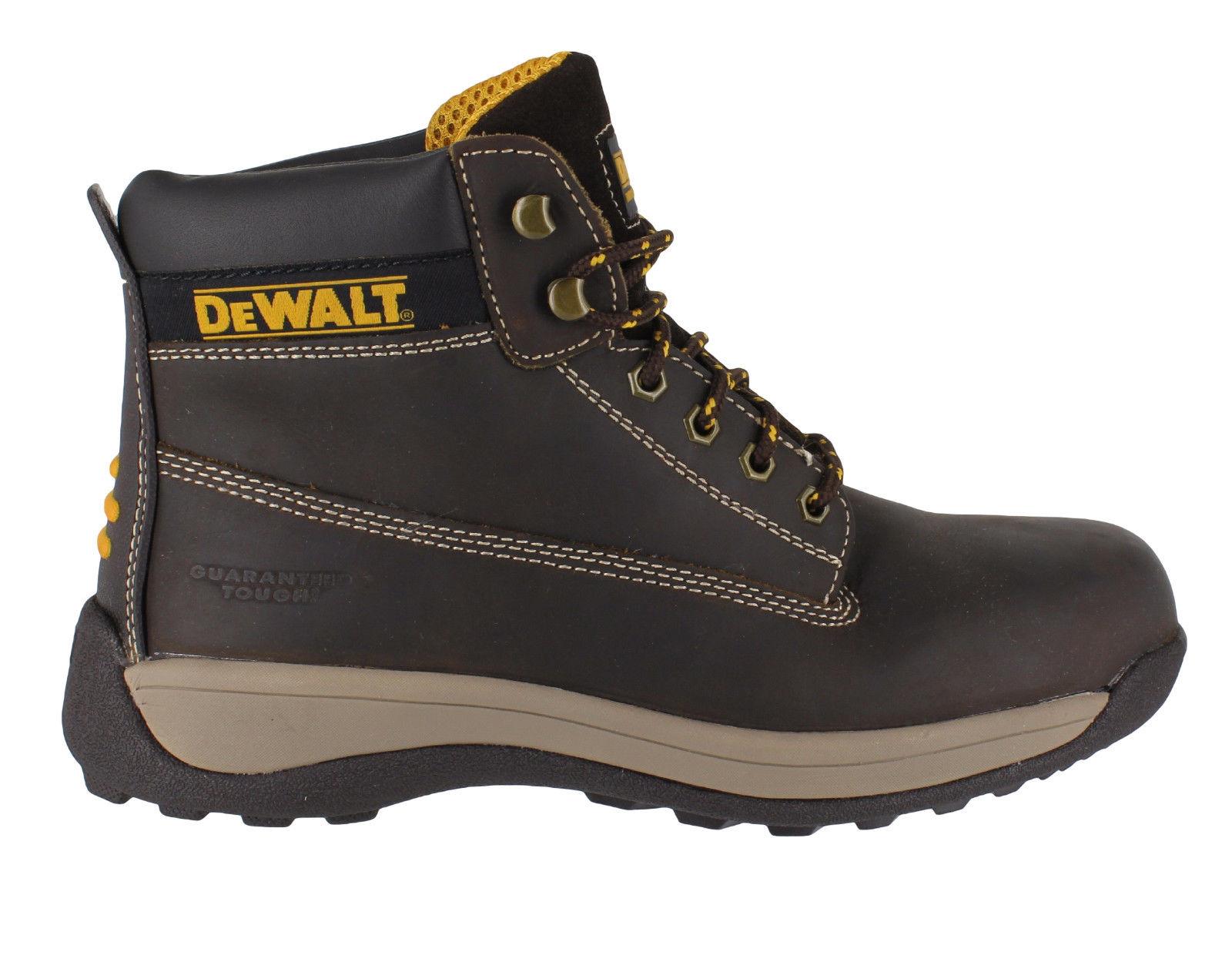 Dewalt Apprentice Mens Safety Boots Steel Toe Sb Ebay