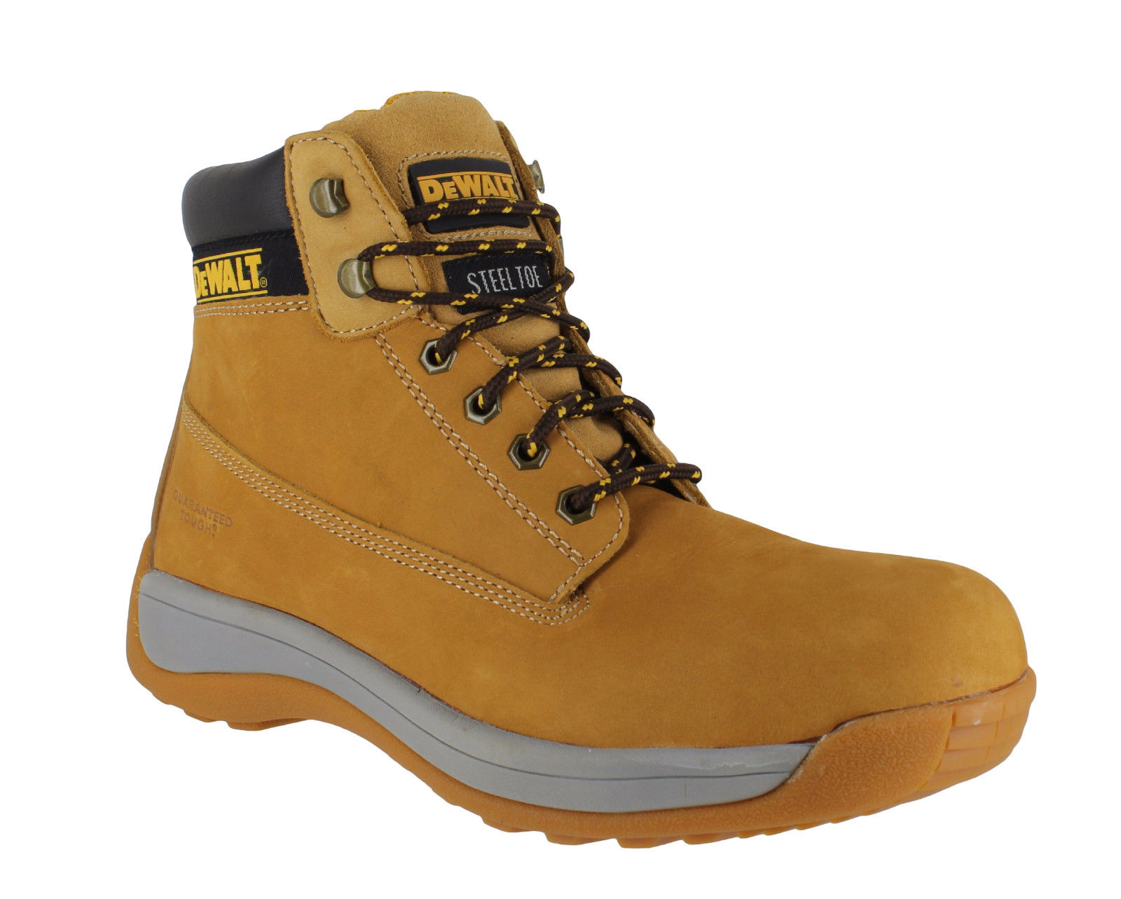 Mens DeWalt Apprentice Leather SB Safety Steel Toe Lace Up Boots Sizes 3 To 13 | EBay