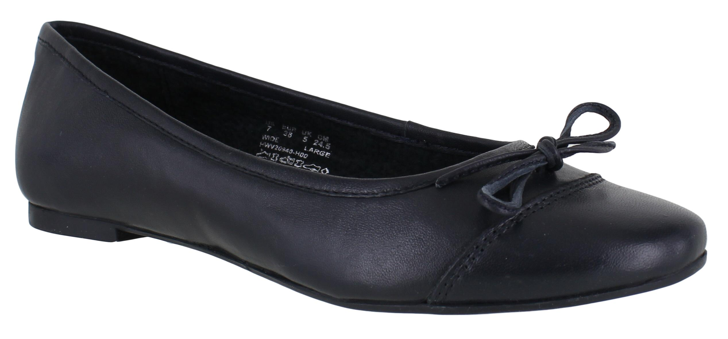 Hush Puppies Damen Alina Grace Ballerinas, Schwarz (Black), 37 EU