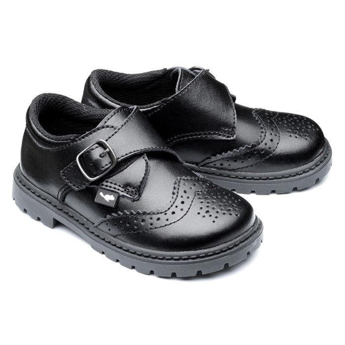 327ef8809f4ac Chipmunks ragazzi Henry bambini neonati Junior Slip sulla scuola del cuoio  scarpe