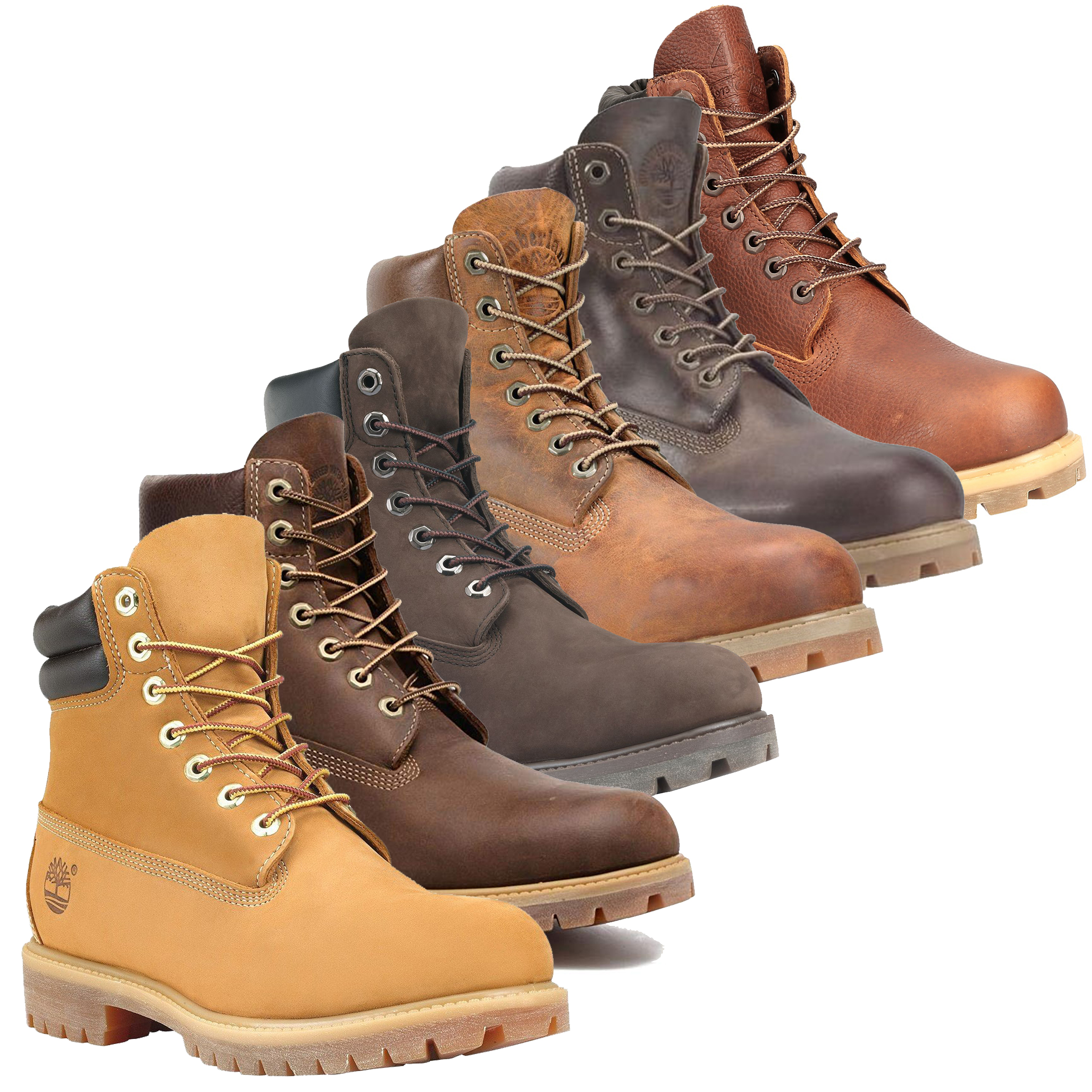 fácil de lastimarse Manifestación Cartas credenciales  Mens Timberland 6-Inch Waterproof Lace Up Leather Ankle Boots Sizes 5.5 to  12.5 | eBay