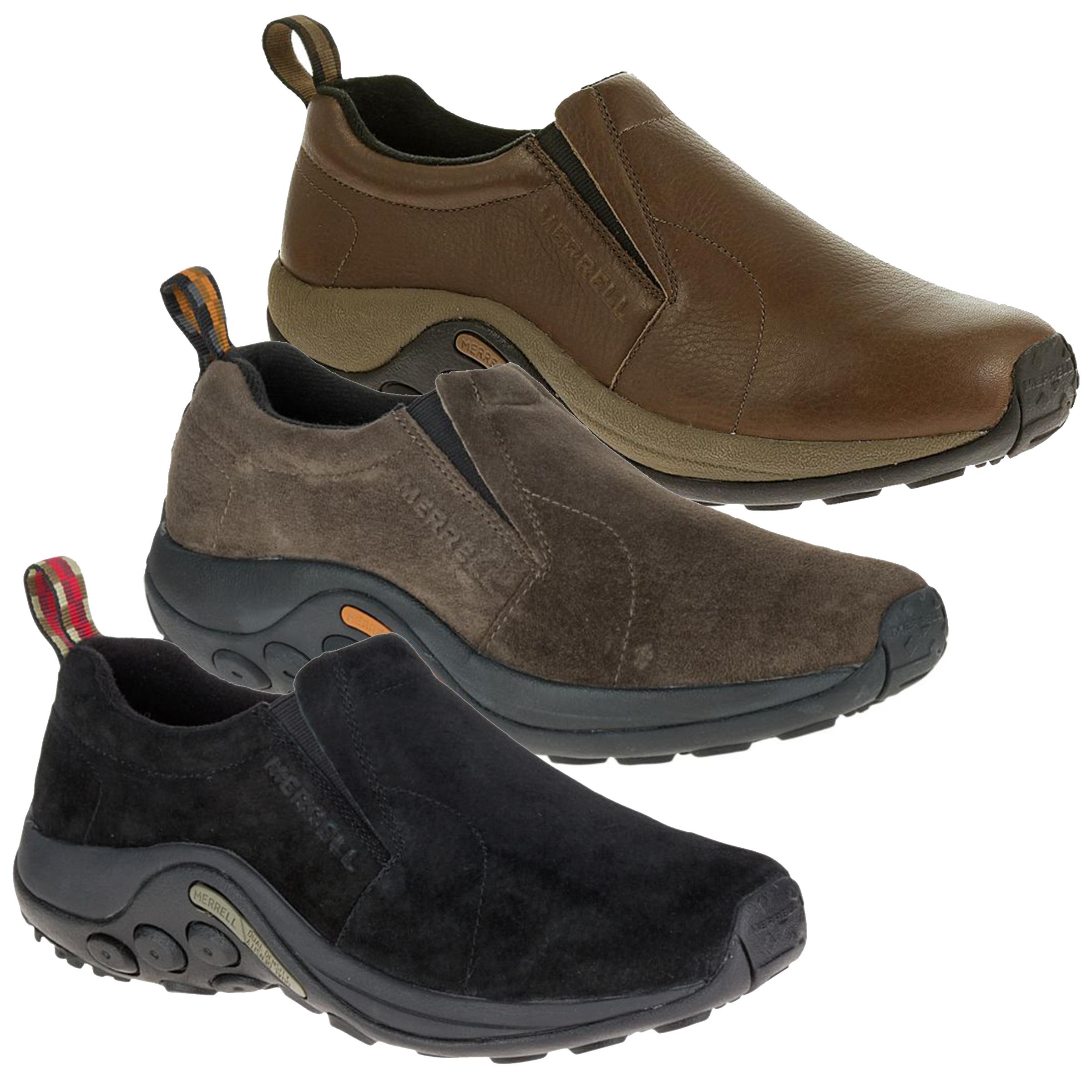 merrell jungle moc mens walking shoes down